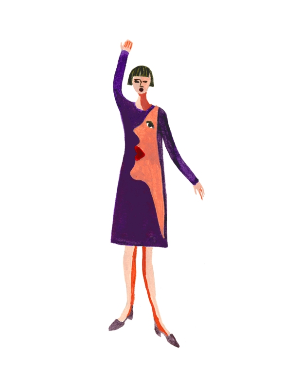 Decue-Wu-YSL-Picasso-Dress