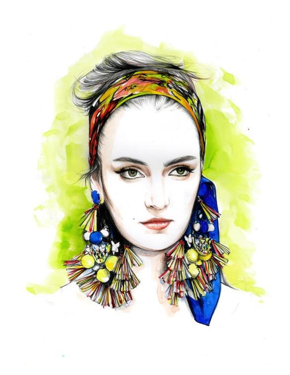 Caroline-Andrieu-Dolce-and-Gabbana-Zuzanna-Bijoch-Spring-2013