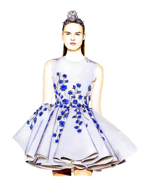 Lidia-Luna-Giambattista-Valli-Haute-Couture-Fall-2013