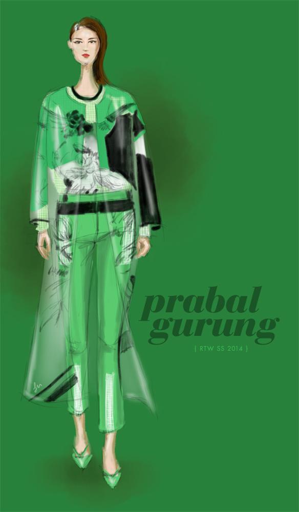 Lisa-Nishimura-Prabal-Gurung-Spring-2014