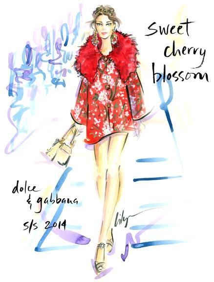 Jennifer-Lilya-Dolce-and-Gabbana-Spring-2014