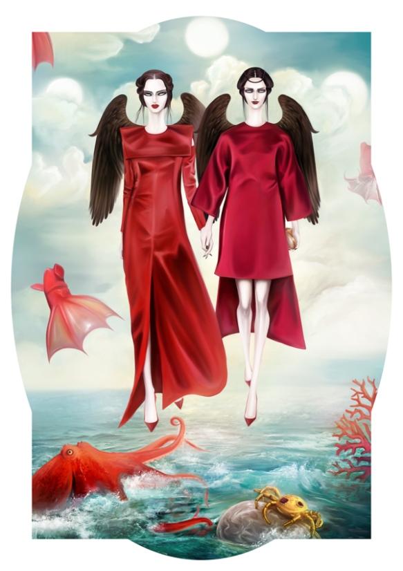 Mahyar Kalantari Valentino Haute Couture Fall 2013