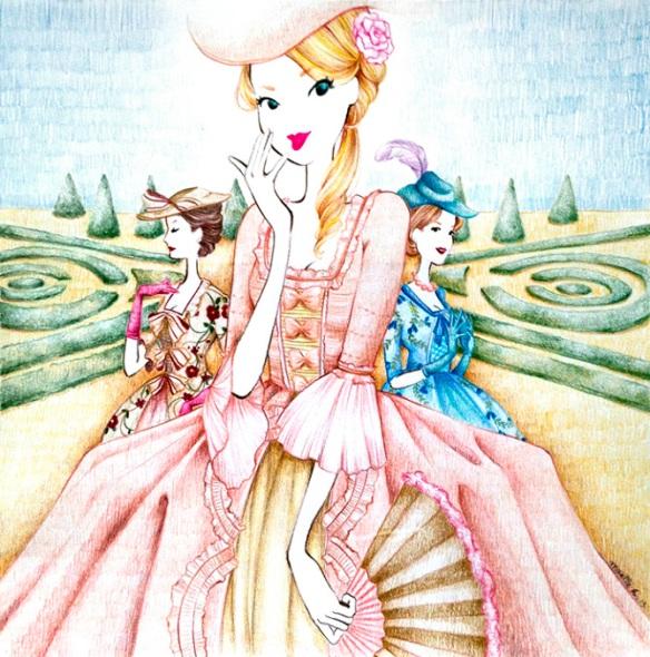 Maelle-Rajoelisolo-Marie-Antoinette