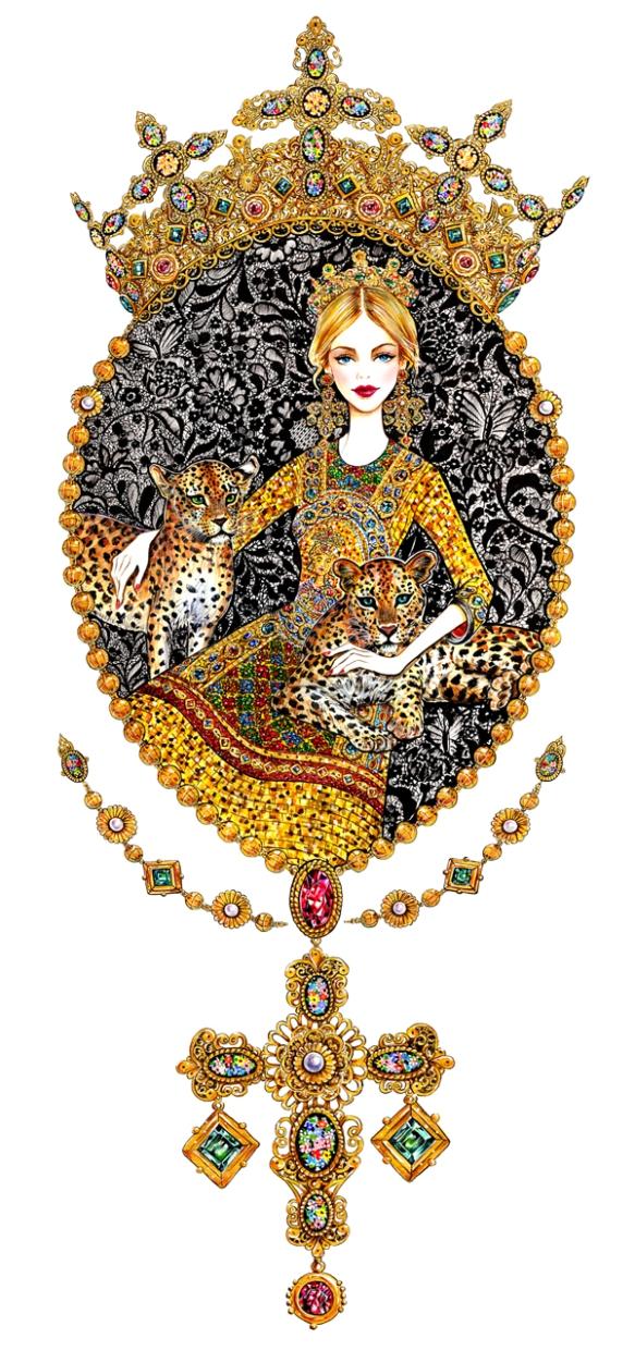 Sunny-Gu-Dolce-and-Gabbana-Fall-2013
