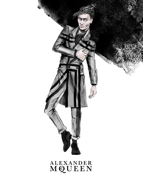 Natalia-Jhete-Alexander-McQueen-Fall-2014