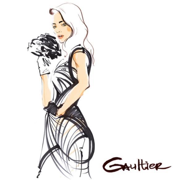 Alena-Lavdovskaya-Jean-Paul-Gaultier-Haute-Couture-Spring-2015-1