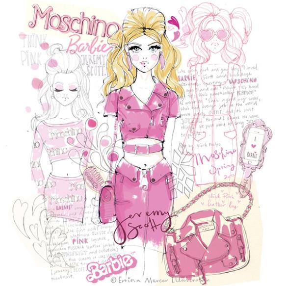 Errina-Mercer-Moschino-Spring-2015