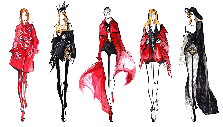 Illustration Files Maison Margiela S S 2015 Haute Couture