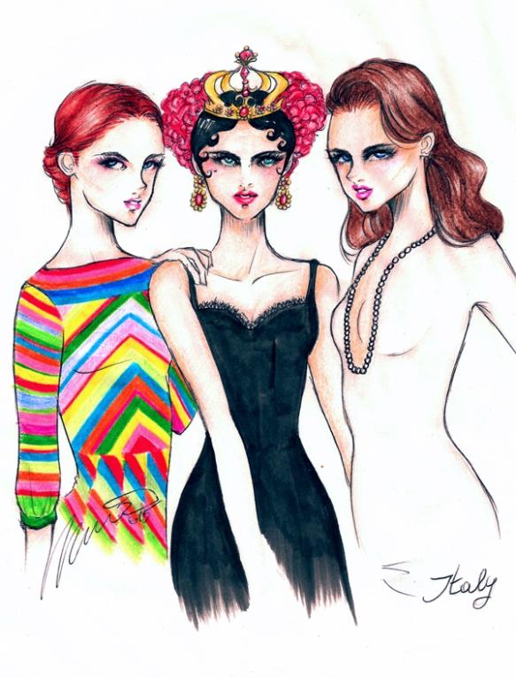 Domenico-Tortora-Valentino-Dolce-and-Gabbana-Gucci-Spring-2015