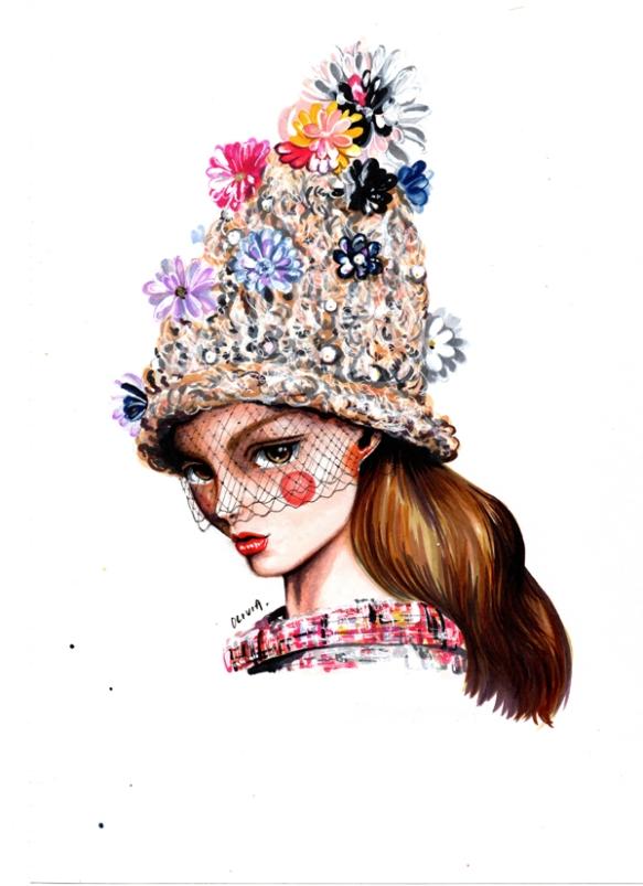 Olivia-Au-Chanel-Haute-Couture-Spring-2015