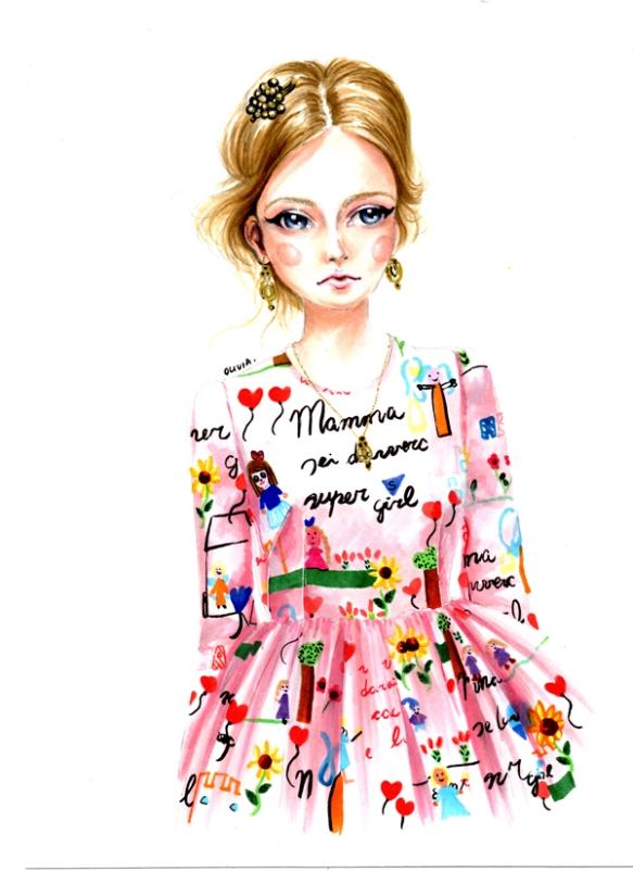 Olivia-Au-Dolce-and-Gabbana-Fall-2015