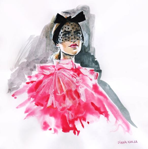 Diana-Kuksa-Giambattista-Valli-Haute-Couture-Spring-2015-1
