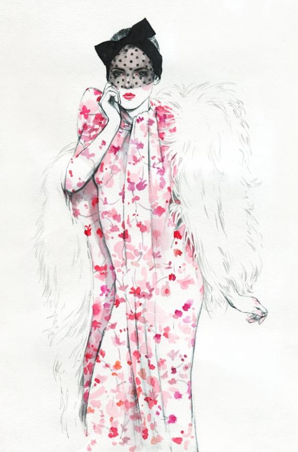 Diana-Kuksa-Giambattista-Valli-Haute-Couture-Spring-2015-5